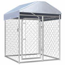 VID kültéri kutyakennel tetővel 100 x 100 x 125 cm