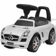 Mercedes Benz Tolható gyerekautó fehér színben
