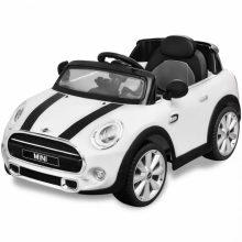 Elektromos kisautó fehér Mini Cooper