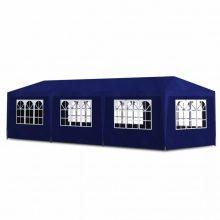 3x9 m sátor - kék