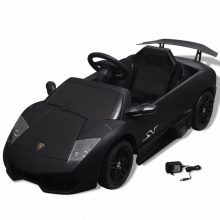 Elektromos kisautó Lamborghini fekete