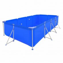VID Fémvázas medence [394 x 207 x 80 cm] - téglalap