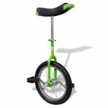 """Egykerekű kerékpár - 16 """"- zöld"""