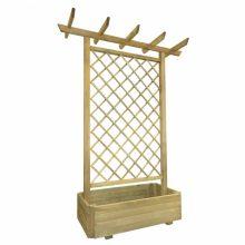 VID Kerti fa ültető lugas 162x56x204 cm