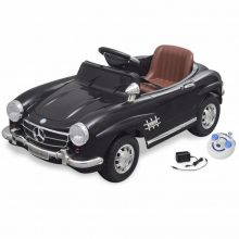 VID Elektromos kisautó fekete Mercedes Benz 300SL