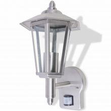 Rozsdamentes acél kültéri szenzoros fali lámpa