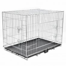 VID Összecsukható fém kutyaketrec XL