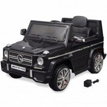 Elektromos kisautó fekete Mercedes Benz G65