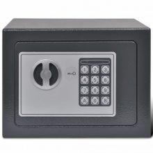 VID Elektronikus páncélszekrény széf 23 x 17 x 17 cm