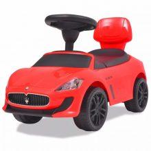 VID Lábbal hajtható Maserati kisautó [piros]