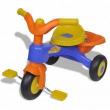 Gyerek tricikli narancssárga-kék