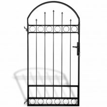 VID ívelt tetejű acél kerítés kapu 100 x 200cm