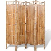 4 részes bambusz paraván