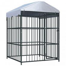 VID kültéri kutyakennel tetővel 150 x 150 x 210 cm