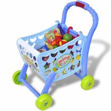 3 in 1 gyerek bevásárlókocsi kiegészítőkkel