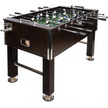 MAX Profi nagy csocsó asztal/ asztali foci - sötétbarna színben