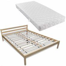 """Fa ágy 140x200 cm """"V7"""", matraccal"""
