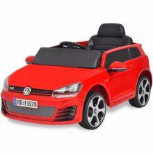 VID Ride-on VW Golf GTI 7 12V Elektromos kisautó+távirányító piros