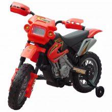 Elektromos motorkerékpár piros