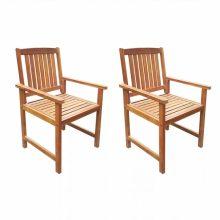 VID 2 darab barna kültéri tömör akácfa szék