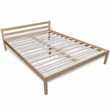 "VID Fa ágy 140x200 cm ""V7"", ágyráccsal"