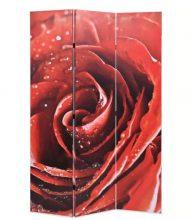 VID piros paraván 120 x 180 cm rózsa