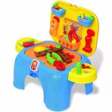 Gyermek játék barkácsasztal szerszámokkal