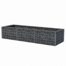 VID acél gabion ágyás, virágtartó 270 x 90 x 50 cm