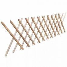 VID Impregnált kihúzható fa lugas kerítés 250 x 80 cm