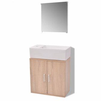 VID 3 részes fürdőszoba bútor szett