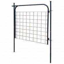 VID 100x100 Antracit kerti kerítés kapu