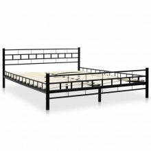 """VID Fém ágy 160x200 cm """"V3"""", ágyráccsal"""