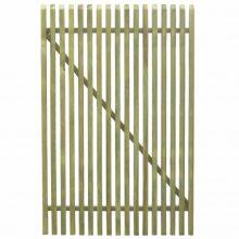 VID  kapu, kertkapu  impregnált fenyőfalécekből 100x150 cm