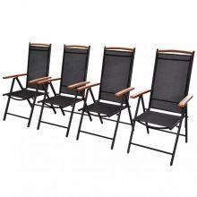 VID 4 db-os kerti szék szett Polywood