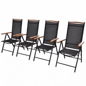 VID 4 db-os kerti szék szett Polywood 230104