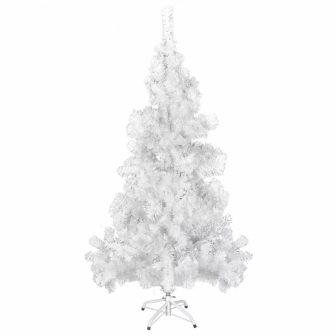 VID Fehér Karácsonyi műfenyő- műanyag tartóval- 150 cm