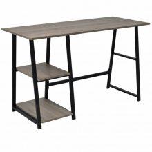 Fémvázas 2 polcos íróasztal