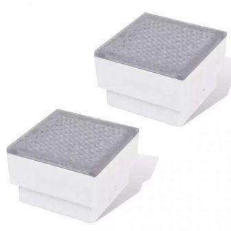 VID Kültéri LED földbe építhető lámpa [2 db] 100x100x68mm