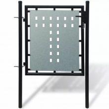 VID 1 ajtós kapu 100 x 125 cm fekete