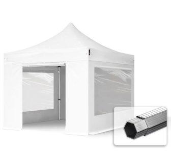 Professional összecsukható sátrak PROFESSIONAL 3x3m-400g/m2-alumínium szerkezettel-Több színben