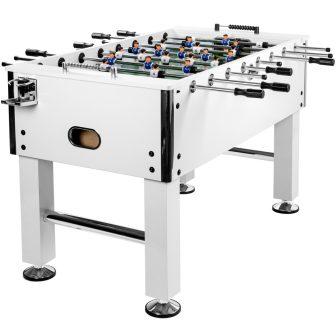 MAX Profi nagy csocsó asztal/ asztali foci - fehér színben