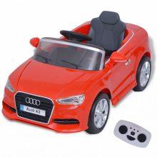 Elektromos kisautó piros Audi A3