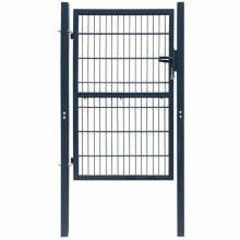 VID acél kerítés kapu antracit szürke színben 106x250cm