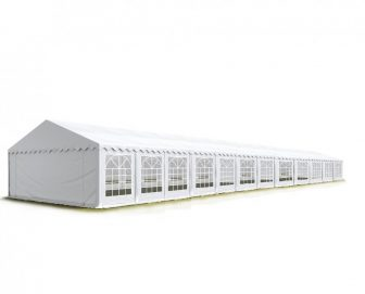 TP Professional deluxe 8x24m-2,6m oldalmagasság, 550g/m2 rendezvénysátor extra vastag acélszerkezettel tűzálló