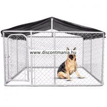 DISCONTMANIA kutyakennel 3x3x2,3m 9m2 tetővel