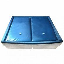 VID 2 személyes vízágy matrac alátéttel/elválasztóval - 3 rétegű [200x200 cm]
