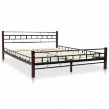 """VID Fém ágy 160x200 cm """"V5"""", ágyráccsal"""