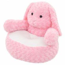 VID rózsaszínű nyúl plüss fotel /játék