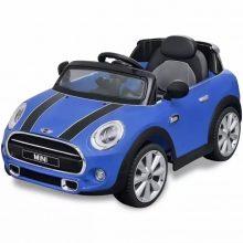 Elektromos kisautó kék Mini Cooper