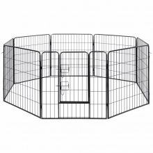 VID acél kutyakennel 8 panelből